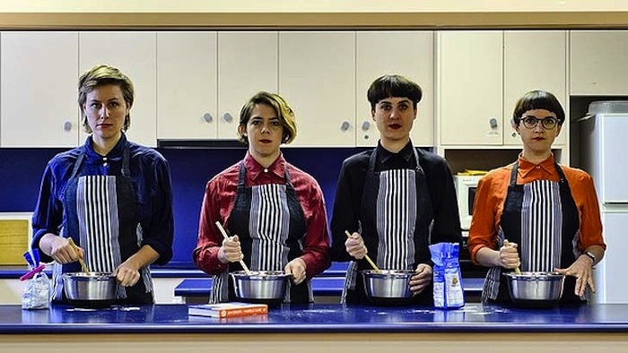 a performative bake-off and test of endurance between the four members of Brown Council