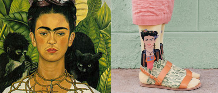 """Feet, what do I need you for when I have wings to fly?"" ―Frida Kahlo"