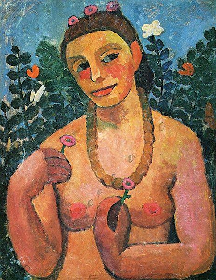 "German artist Paulua Modersohn-Becker writing to her parents in 1899:  ""And so the point of this letter is simply to assure you that I'm still your old Paula, even if a new Paula is on her way. And if this new Paula doesn't please you, take consolation in the thought that there will soon be a time when the new Paula will be replaced by an even newer one. They come and go like the seasons outside. And it's impossible to leave one out."""