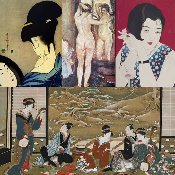 From the eighteenth century bijinga art style to the early twentieth century moga, women in Japan have been defined by images; depicted as types and reduced into concepts by limited (and limiting) variations of pictorial schemes. It was through images that society upheld the world of gender stereotypes where patriarchal values could indisputably reign and where women would remain passive objects of a voyeuristic gaze.